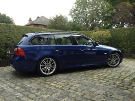 BMW 3 SERIES 325D 3.0 M SPORT TOURER 2006 ( rare 6 speed manual)