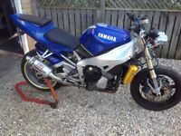 Yamaha r1 street fighter. Px nice watch omega or Rolex