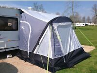 Suncamp inflatable awning