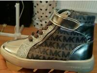 Kids high top Michael kors trainers