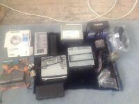 Job lot of radios/electronics - includes Panasonic radio/cassette player and 2 x car radios