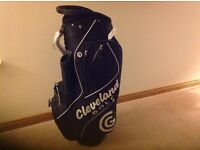 Cleveland golf bag.