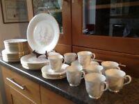 'For All Seasons' Parkland, 1980's Royal Albert bone china tea/dinner set.