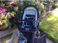 Silver Cross pram/buggy plus accessories