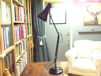 Original Herbert Terry & Sons Ltd Black Anglepoise Lamp.