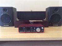 Focusrite 2i2 Audio Interface £60