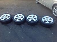 "£300 Immaculate Vw golf gti mk5 17"" Monza alloys no curbing/no scuffs/no damage"