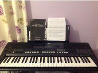 PSR-E433 Yamaha Electronic keyboard & stand