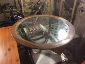 Iconic g plan circular coffee table