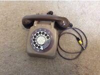 Vintage telephone headphones