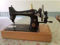 Vintage Singer Hand Sewing Machine
