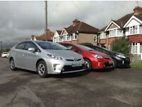 Pco registered toyota Prius for rent IN LONDON at ONLY £110 a week