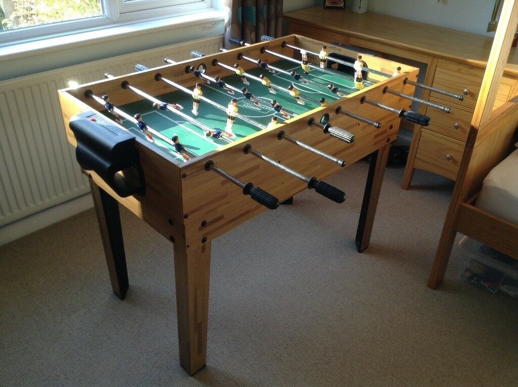 4-in-1 multi games table