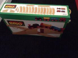 Brio train set boxed