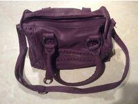 Women's Purple handbag (used)
