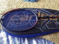 Carlton badminton racquet aerogear 800ht with case