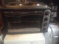 Bush table top cooker,£25.00