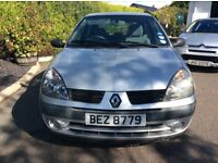 2005 Renault Clio full years mot 96000 miles great driver other cheap cars available