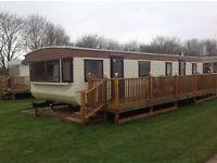 Skegness Peacehaven, spacious Static 6 berth caravan to rent, low deposit, great location