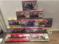 Selection of Hornby train sets