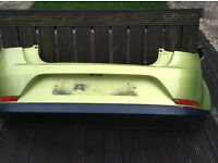 Seat Ibiza 3 Door Rear Bumper 2011 6J