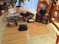 hi i am selling some camras and camcorder