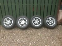 Range Rover Sport 17 inch Alloy Wheels with Good Year Wrangler M+S tyres