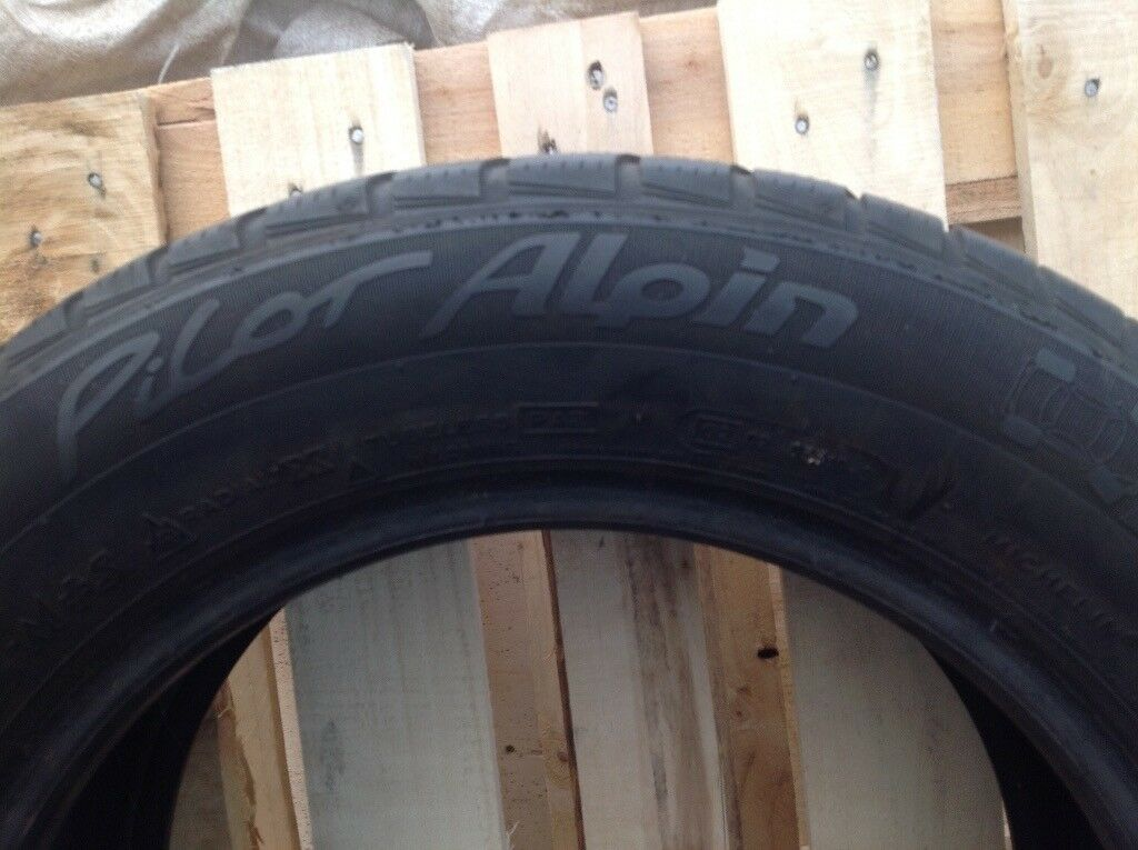 Michelin pilot alpin snow tyres 205 60 15