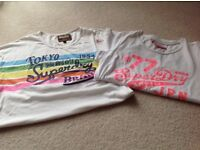Superdry t-shirts price for both