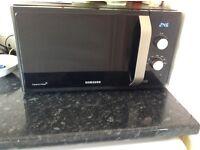 Samsung Microwave 800W Matte Black & Silver