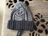 Diesel K-Teen bobble hat, brand new with tags, one size fits all.