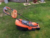 FLYMO CHEVRON 34c lawnmower. 1400w 34cm