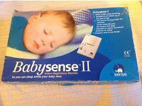Babysense 2 movement sensor for cot / crib / Moses baskets