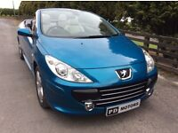 2007 PEUGEOT 307cc 2.0 HDI SPORT **TWO OWNER DIESEL CONVERTIBLE **