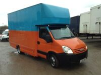 2009 iveco daily 3.0hpi 35s18 6 speed lwb luton box van 1 owner from new