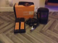 IMPAX Arc welder , leads , IMPAX automatic welding mask + rods