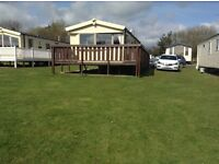 StAtic caravan for hire, Berwick upon tweed