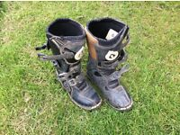 Motocross boots size5