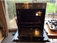 Electric built in oven and gas hon