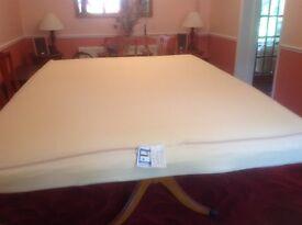 Memory Foam mattress double never used