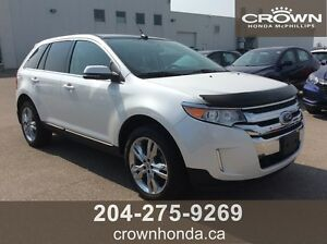 2013 FORD EDGE LIMITED - LOCAL TRADE, ONE OWNER