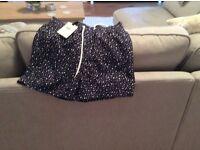 Reiss mens shorts with polka dots