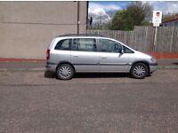 Car/ van 7 seater Zafira for sale....