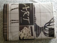King size duvet set BRAND NEW UNOPENED Winter design
