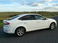 2009 Ford Mondeo WHITE 2.0 TDCI