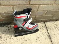 Adjustable ice skates size 1.5-3