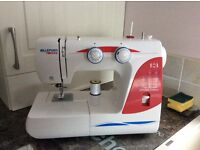 Necchi sewing machine with foot pedal hardly used