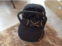 Baby Carry chair + cover NEW NEVER USED