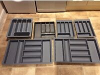 Cutlery trays for 800 400 and 500 drawers