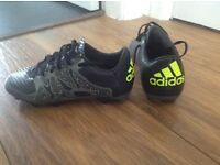 Adidas 15.3 football boots size 1